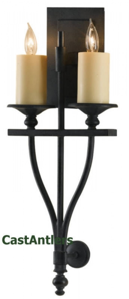 King's Table 2-Light Sconce