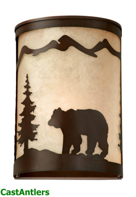 Yukon 1-Light Rustic Sconce