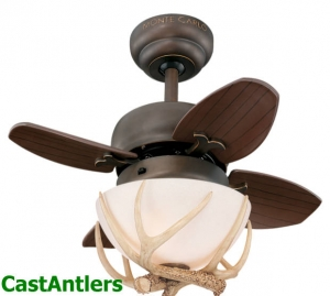 "20"" Reproduction Antler Ceiling Fan"
