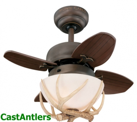 "20"" Wyoming Reproduction Antler Ceiling Fan"