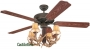 "52"" Antler Indoor/Outdoor Ceiling Fan"