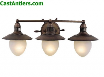 Nautical 3-Light Vanity Light
