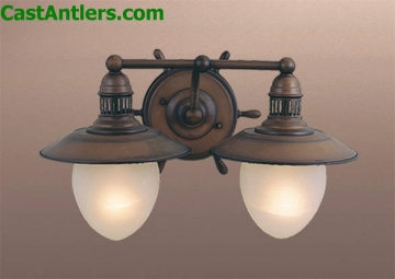 Nautical 2-Light Vanity Light
