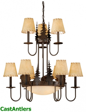 Klondike 12-Light Chandelier