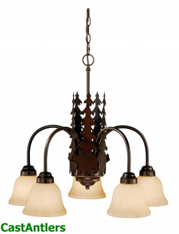 Yukon 5-Light Chandelier