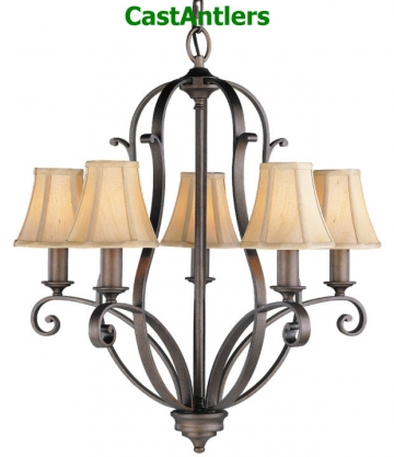 Tuscan 5-Light Chandelier