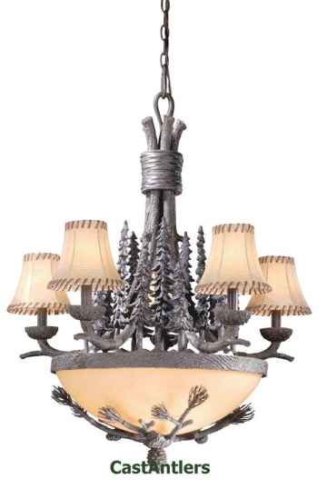 Jasper 8-Light Chandelier w/ Shades