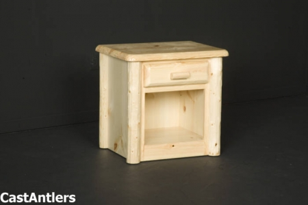 Traditional 1 Drawer Nightstand