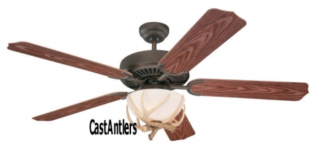 "52"" Wilderness Antler Indoor/Outdoor Ceiling Fan"