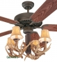 "42"" Antler Indoor/Outdoor Ceiling Fan"
