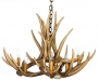 Mule Deer 6 Cast Antler Chandelier