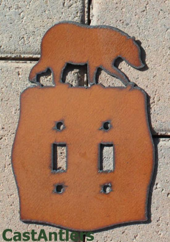 Bear Toggle Switch Plate Covers