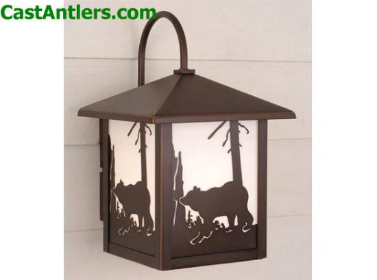 8in Outdoor Wall Light (Bear)