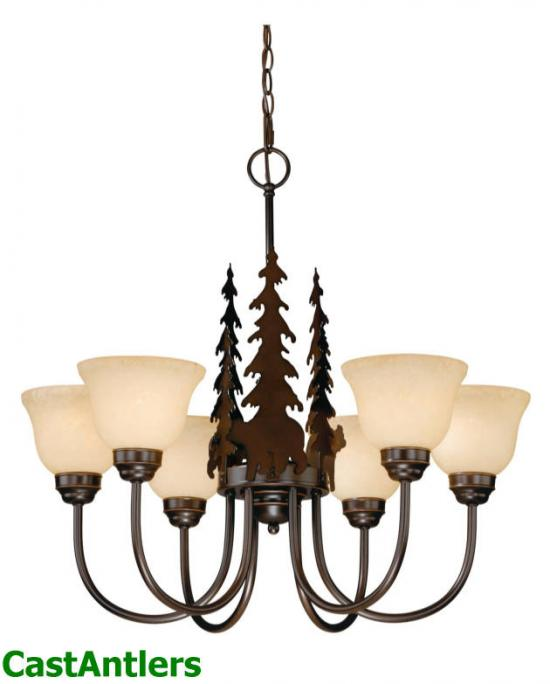Yukon 6-Light Chandelier