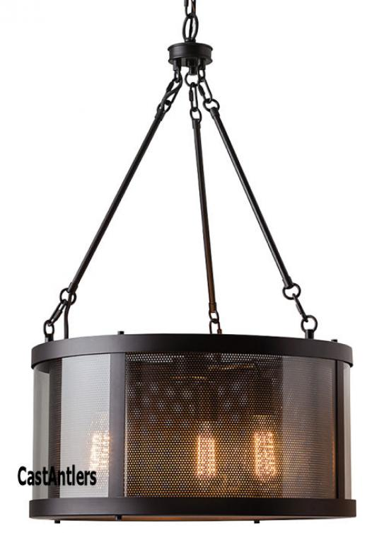3 Light Candelier Oil Rubbed Bronze