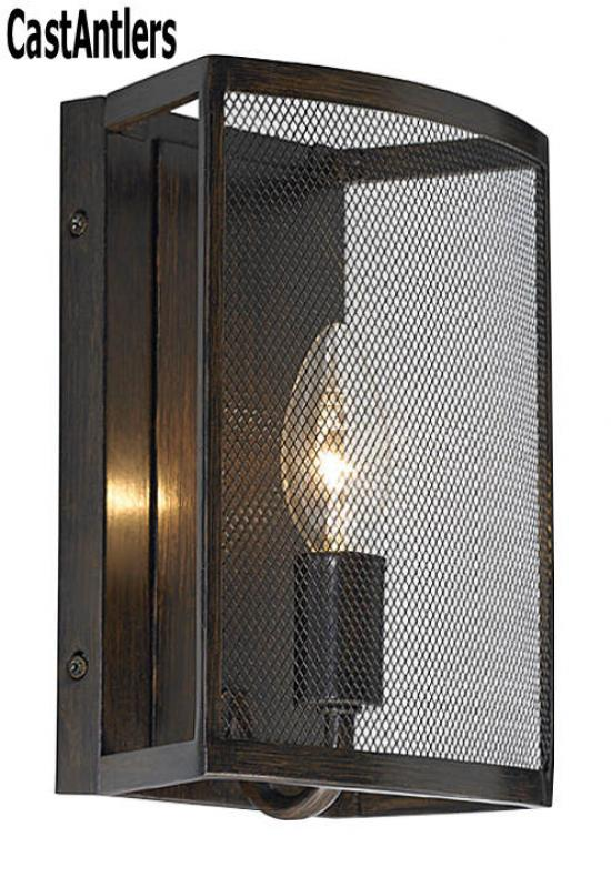 1- Light Heritage Bronze Wall Sconce