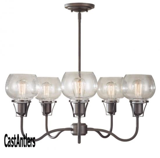 5 Light Urban Renewal Chandelier