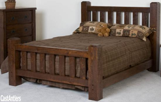 Lumber Barn Bed