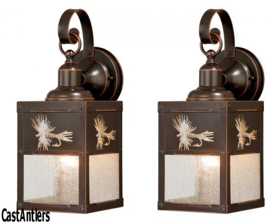 5in Outdoor Wall Light (Fish) -- price is per pair