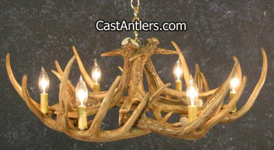 Traditional Deer Antler Chandelier