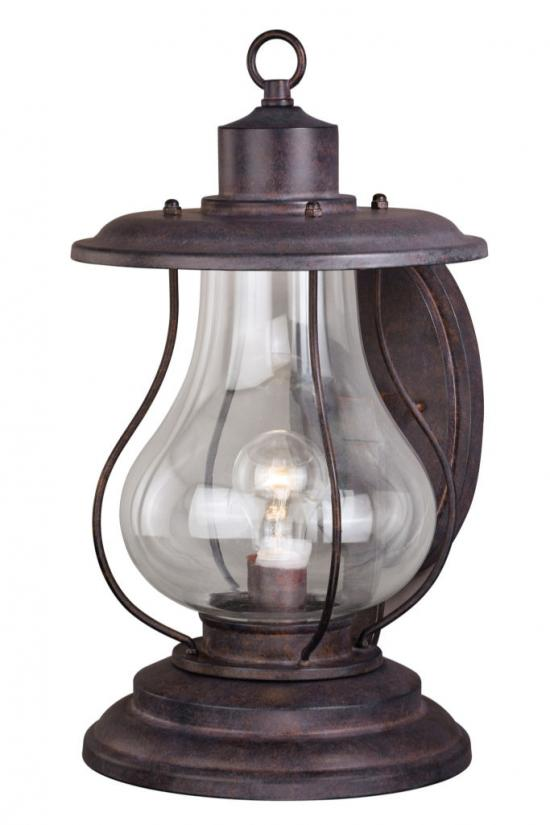 "14"" Outdoor Rustic Finish Western Lantern Wall Mounted Light Sconce"