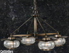 Rustic Chandeliers Without Antlers