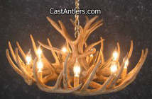 Click Here for Whitetail Deer Antler Chandeliers