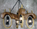 Doulbe Ox Yoke 4 lantern light